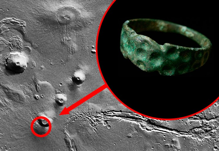 Alien Ring Found On Mars