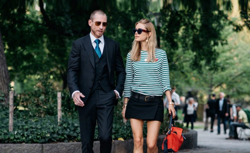 On The Streets at Stockholm Fashion Week