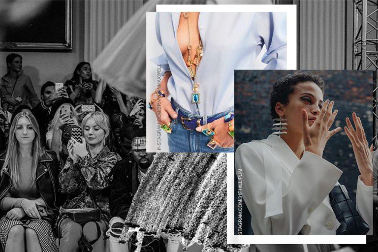 Fashion Week jewellery trends