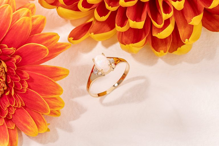 October birthstone, Opal at QP Jewellers
