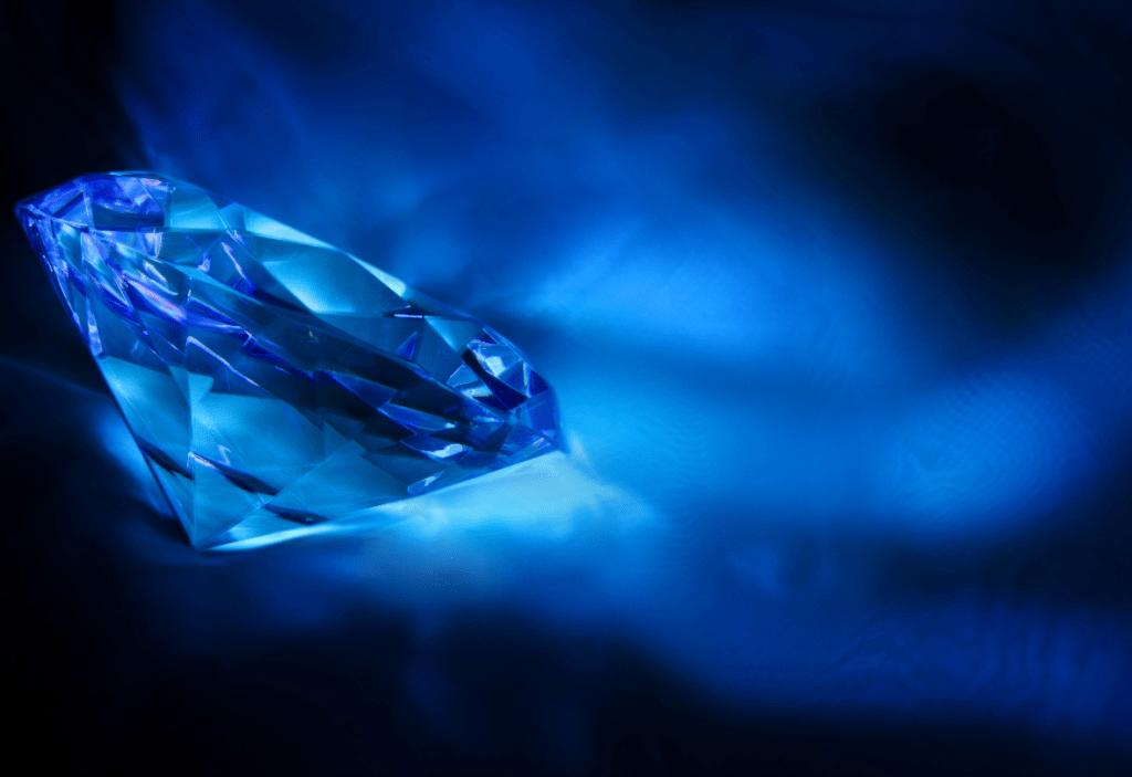 Blue Diamond. Credit: Canva
