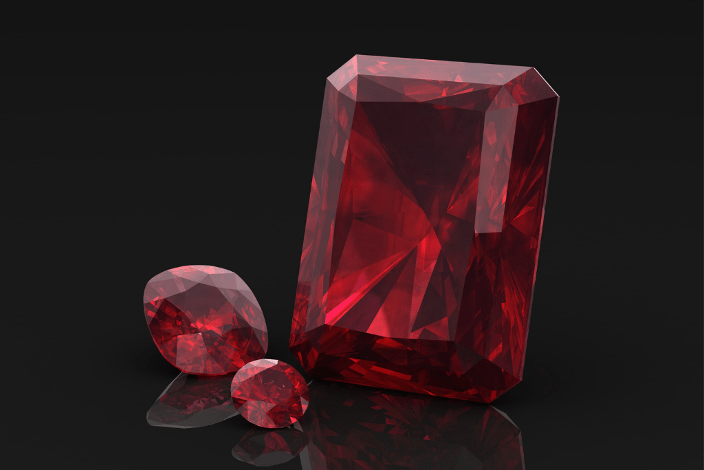 June Birthstone Ruby in Various Cuts - Credit: Canva