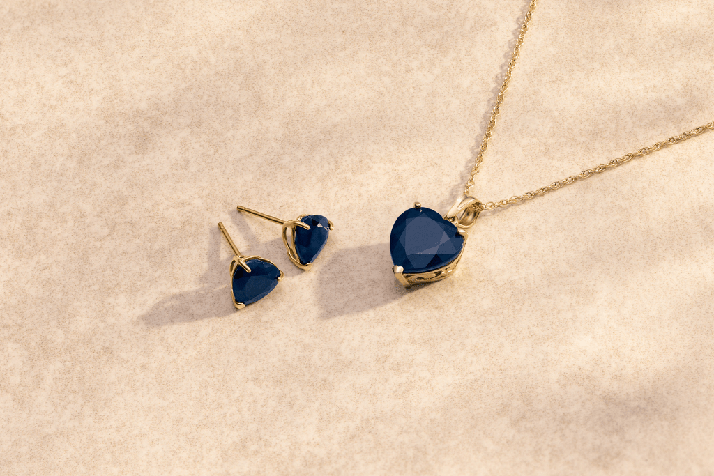 Sapphire Heart Jewellery